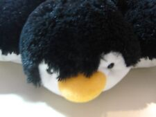 "18"" x 13"" plush Penguin by Pillow Pets, good condition"