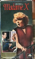 Madame X (VHS) 1966 soap opera remake stas Lana Turner-John Forsythe-Keir Dullea