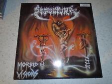 Sepultura – Morbid Visions 1987 LP Blue Label