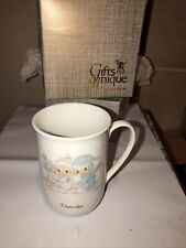 1984 Precious Moments December Coffee Cup Mug