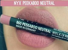 NYX Lip Liner Pencil💋Peekaboo Neutral• New&Authentic