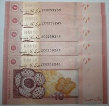 (PL) NEW OFFER: RM 10 ZC 0259246-50 UNC ZETI 12TH SERIES REPLACEMENT NOTE