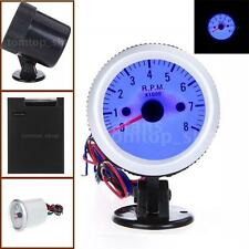 2 inch Tachometer Gauge with Holder Cup for Auto Car 0~8000RPM LED Light TF R4L8