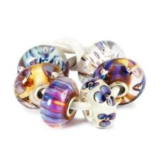 Trollbeads original Authentic SET  PARADISO  VIOLA  TGLBE-00045