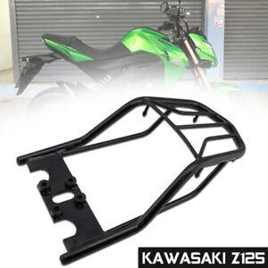 FIT KAWASAKI Z125 Z125 PRO BLACK REAR LUGGAGE RACK REAR TAIL CARCO COVER STEEL