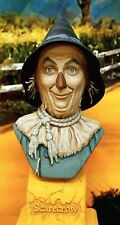 Scarecrow Wizard of Oz Painted Resin Bust