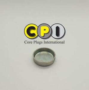 24mm Cup type core plug - CR4 Zinc Plating - British Steel BS1449