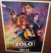 "SOLO: A STAR WARS STORY (2018) ORIGINAL INDIA POSTER 27"" X 37"""
