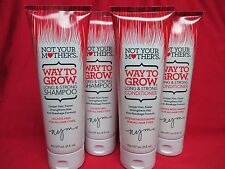 Not Your Mother's Way To Grow Long & Strong Shampoo & Conditioner *LOT of 4* NEW