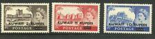 Kuwait - 1955 - Scott 117-19 (3) - MNH