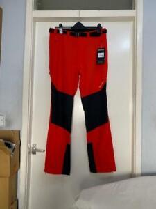 Montane Men's Terra Granite Stretch Flag Red Reg Leg Mens Pants Walking
