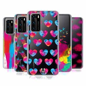 HEAD CASE DESIGNS TREND CRAZE! SOFT GEL CASE & WALLPAPER FOR HUAWEI PHONES