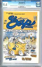 ZAP Comix #1, CGC 9.4, 1ST PRINT, R Crumb, Charles Plymell, Underground Comic