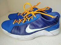 Nike Hyperdunk Blue 386424-400 Athletic Basketball Shoes US Mens Size 15
