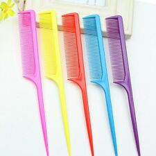 10pcs Wholesale Hair Make Accessory Pointed Rat Tail Comb Random Color HG24