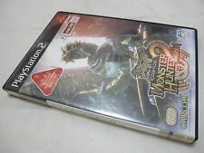 7-14 Days to USA Airmail Delivery USED PS2 Monster Hunter 2 Dos Japanese Version