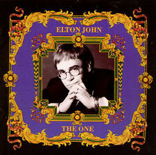 The One by Elton John (CD, Jun-1992, MCA)-Music Club edition-no scratches-used