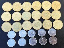 MEXICO 20¢ CENTAVOS 1992 - 2018 COMPLETE SET EXCELLENT CONDITION