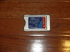 SanDisk 6-in-1 PCMCIA PC Card Adapter SD, SDHC, XD M/H, SM, MMC, MS - (SDAD-67)
