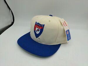 Vintage Annco 1989 Buffalo Bill's NFL Snapback Hat New Old Stock