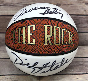Dick Vitale Autograph Signed Basketball- Mini Size Basketball Awesome Baby !