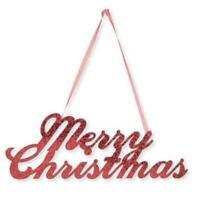 Merry Christmas Glitter Sign
