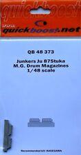 Quickboost 1/48 Junkers Ju87 Stuka M.G. Drum Magazines # 48373