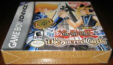 Yu-Gi-Oh!: The Sacred Cards (Game Boy Advance) 3 Limited Edition cards- h-seam!