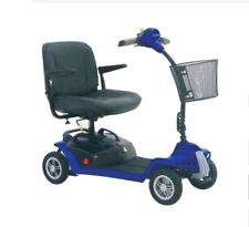 Mobility Scooter Shoprider QT8 , 4 wheel blue scooter, ideal for travelling.