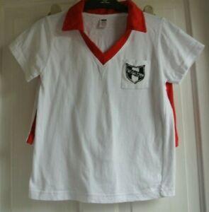 Boys shorts & short sleeve100% cotton Football Pajamas Red 7-8 years