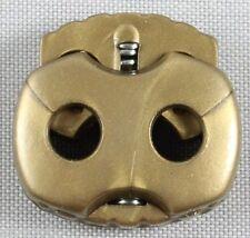 10 Stück (0,15 €/Einheit) Kordelstopper 2 loch 4mm klein
