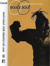 Soul II Soul Club Classics Vol. One CASSETTE ALBUM Electronic Dub Downtempo