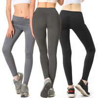 Sport Women Elastic High Waist Legging Fitness Stretch Yoga Sport Pants lot g6u9