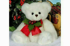 "Bearington Bear*15"" HOLLISTER HOLLYBEARY*New*NWT*Berries* WHITE*Christmas*173901"