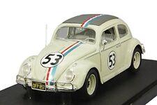 1/18 Hot Wheels VW Maggiolino Herbie #53 37569