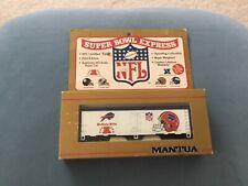 Hawthorne Village  HO Scale 1991 Buffalo Bills NFL Super Bowl Box Car