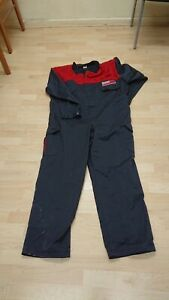 Ladies Or Mens Esso Use Grey Colour Boilersuit Or Overalls.