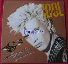 Disques vinyles rock 33 tours Billy Idol