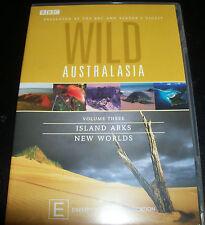 Wild Australasia Rare BBC Vol 3 Island arks / New Worlds (Aust ) DVD - New