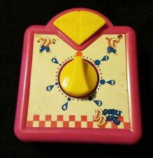 Pressman Double Dare Game Timer Pink and Yellow Replacement Part WORKS