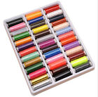39pcs  Mixed Colors Polyester Spool Sewing Thread For Hand Machine Set JS