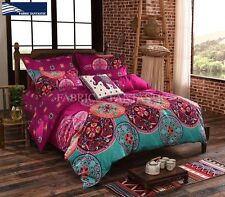 MEDIT King Size Bed Duvet/Doona/Quilt Cover Set Brand New