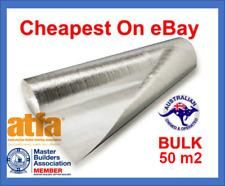 50m2 2mm Silver Foil Underlay Laminate/Timber/Engineered/Bamboo BULK