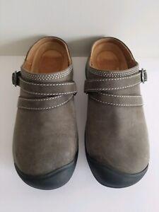 Keen 1019502 Womens's Presido II Mule Turbulence Wrought Iron Casual Shoe Size 6