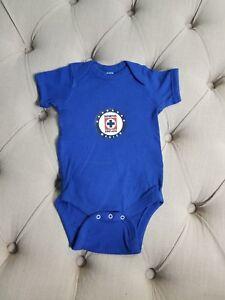 Mexico Cruz Azul Baby  jumpsuit 6-9 months.