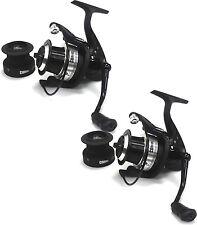 2 x LINEAEFFE team specializzato CONICA FD60 commerciale feeder pesca mulinello 1229160