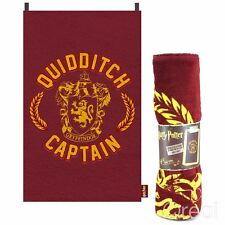 New Harry Potter Quidditch Captain Cloak Towel Gryffindor Cape Beach Official