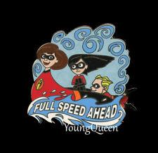 Disney Odyssey The Incredibles Full Speed Ahead Dash Violet Elastigirl Pin