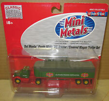 HO Classic Metal Works - CMW - # 31146 - Mini Metals - DEL MONTE - T & Trailer