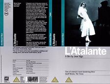L'Atalante, Jean Daste Video Promo Sample Sleeve/Cover #15946